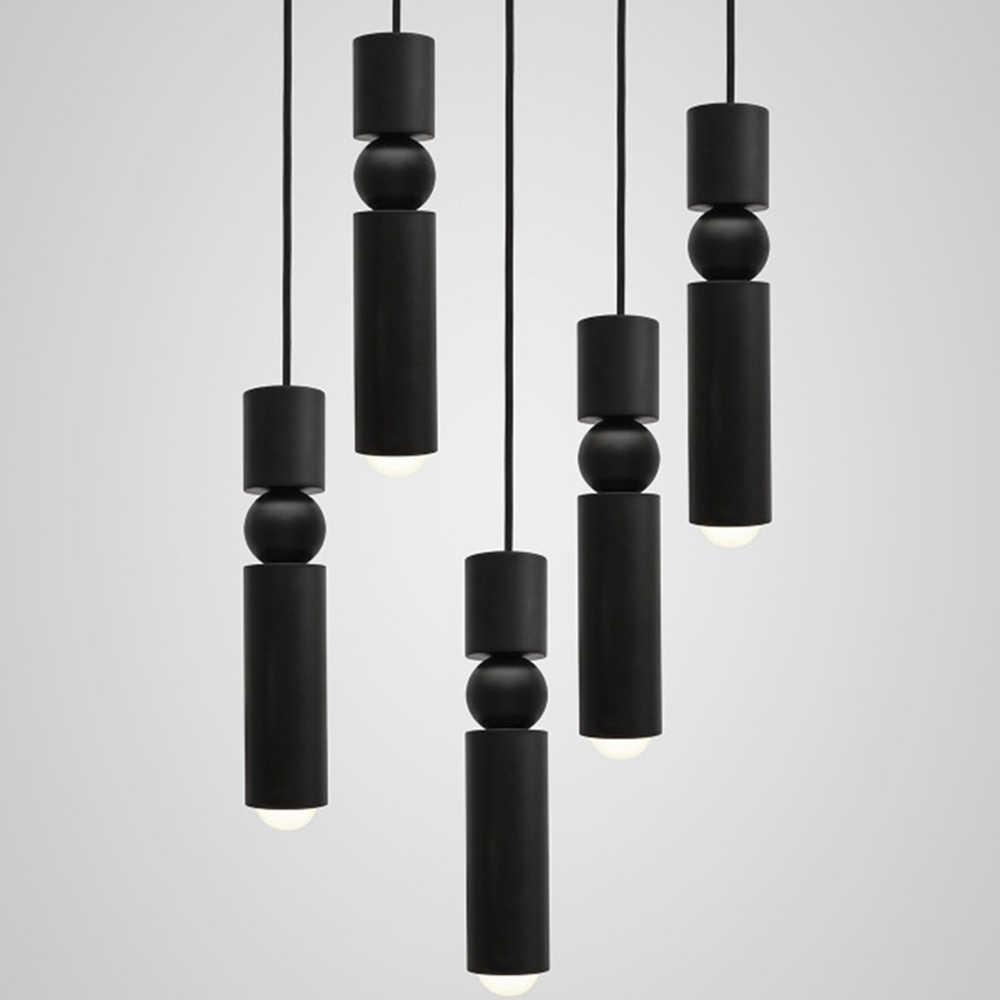 נורדי ברזל תלוי אור רטרו תעשייתי מרובה ראשי צינור בציר led droplight בר קפה מסעדת בית תפאורה מתקן