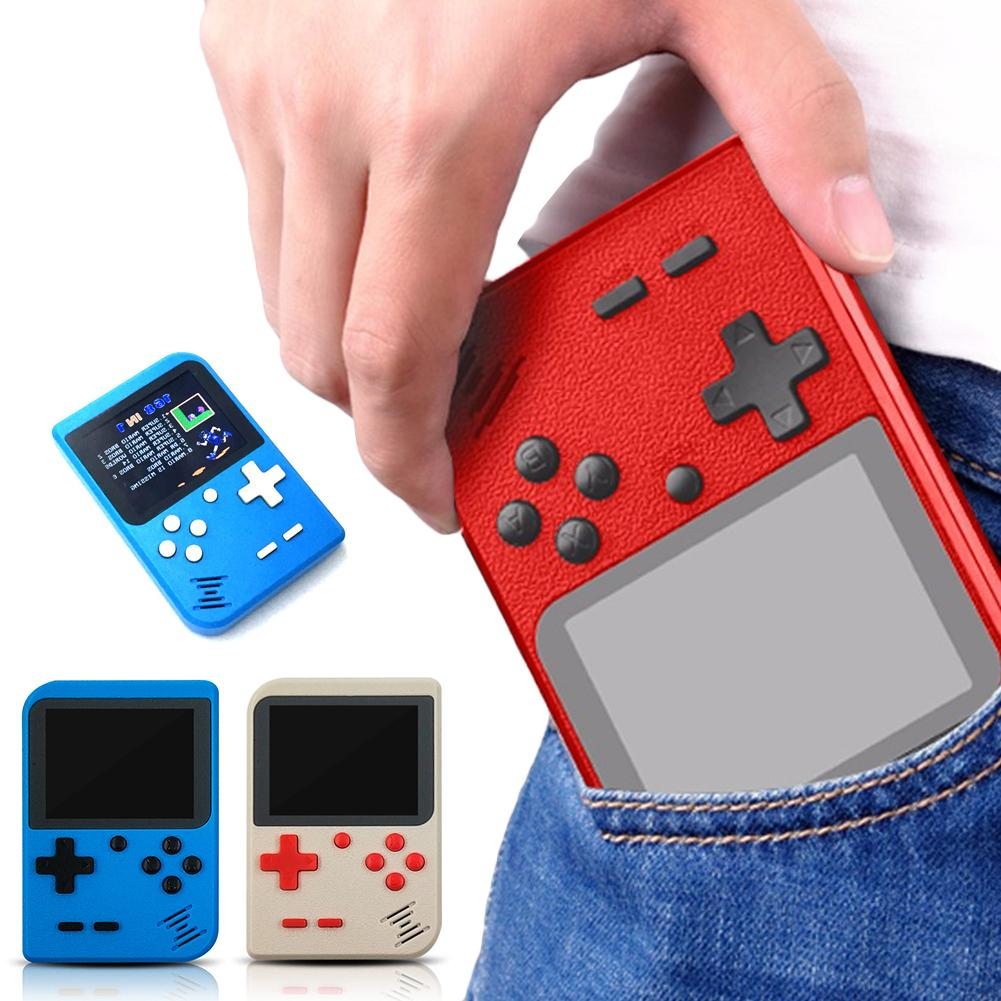 Built-in 400 Games Handheld Retro Game Console Mini TFT Screen USB Charge Portable Retro Handheld Games Console
