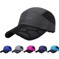 Summer New Sport Breathable Cap Quick Dry Mesh Hats Women Sunshade Caps Men Women Outdoor Climbing Traveling Hiking Hats