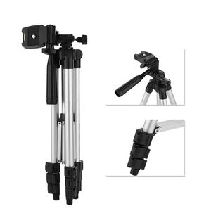 Image 4 - 4 Sections DSLR Camera Tripod Stand Mini Protable Tripod with Phone Mount Holder for LED Light Action Camera Mobile Phone Tripod
