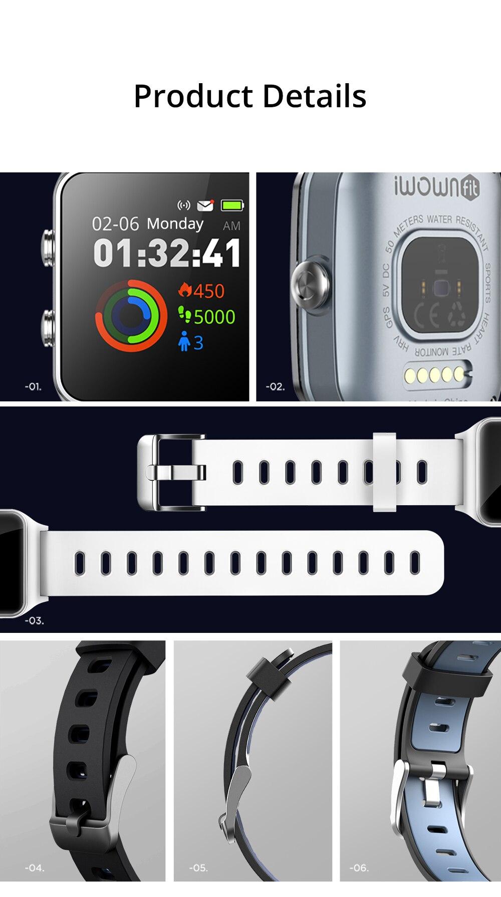 Dropshipping Makibes BR3 Strava Smartwatch Men Built-in GPS Smart Watch IP68 Waterproof Fitness Tracker Heart Rate Monitor Watch (9)