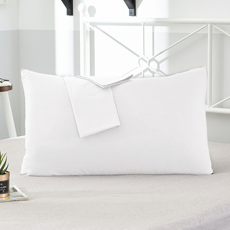 1Pcs/2Pcs 100% cotton Pillowcases Solid Color Standard <font><b>Pillow</b></font> <font><b>Case</b></font> Bedding Bedroom <font><b>Pillow</b></font> Cover 40x60cm/50x70cm/<font><b>50x90cm</b></font> image