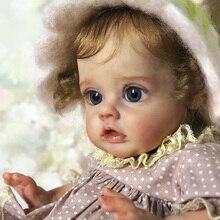 Кукла новорожденная, 12 дюймов, комплект Феи новорожденных, необработанная, Неокрашенная, без рисунка, свежие цветные виниловые детали, игру...