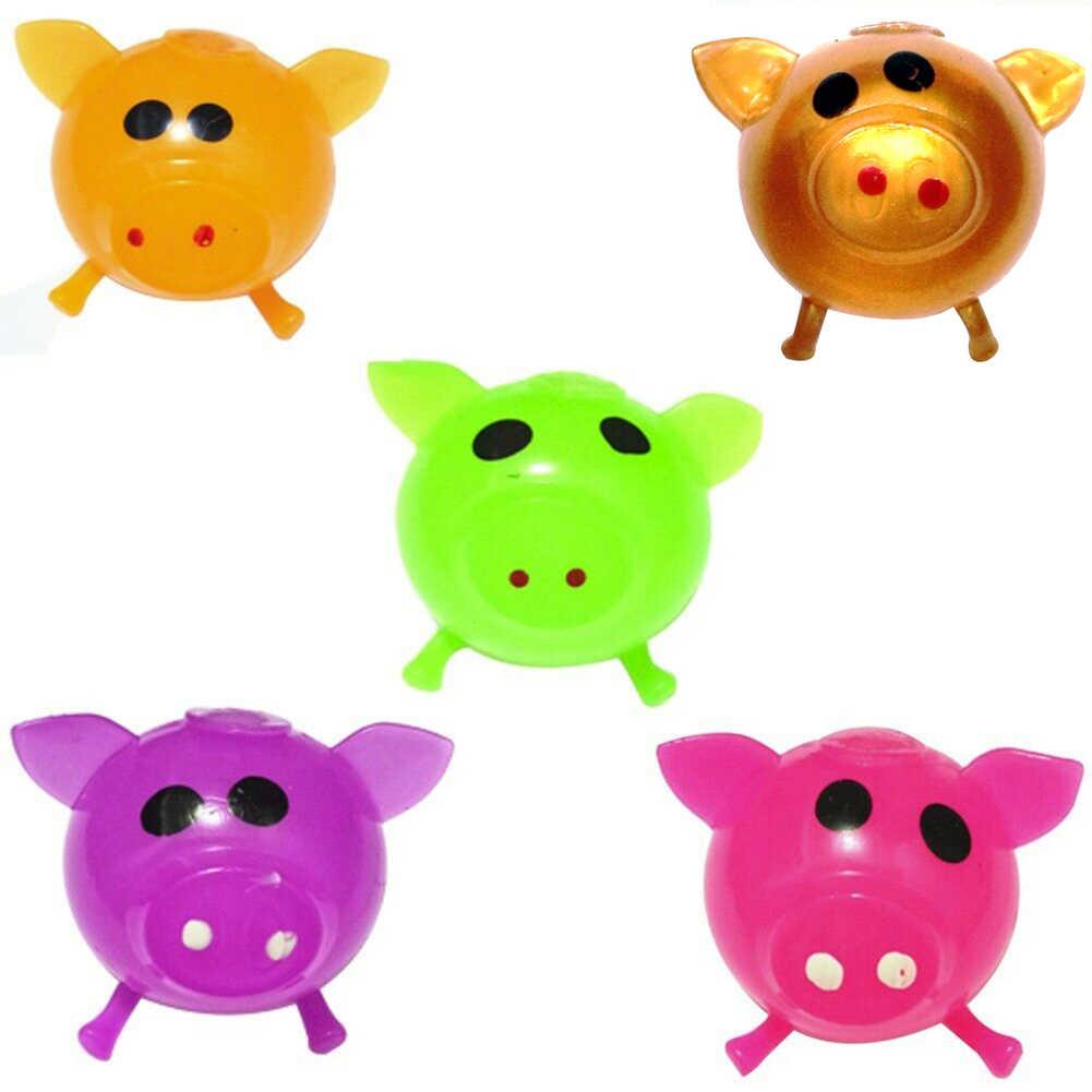 1 Cái Dễ Thương Chống Căng Thẳng Splat Nước Lợn Bóng Lỗ Thông Hơi Đồ Chơi Dính Chắc Đập Tan Bóp Mới Lạ Shocker Gags Đùa Chơi Khăm đồ Chơi Mới