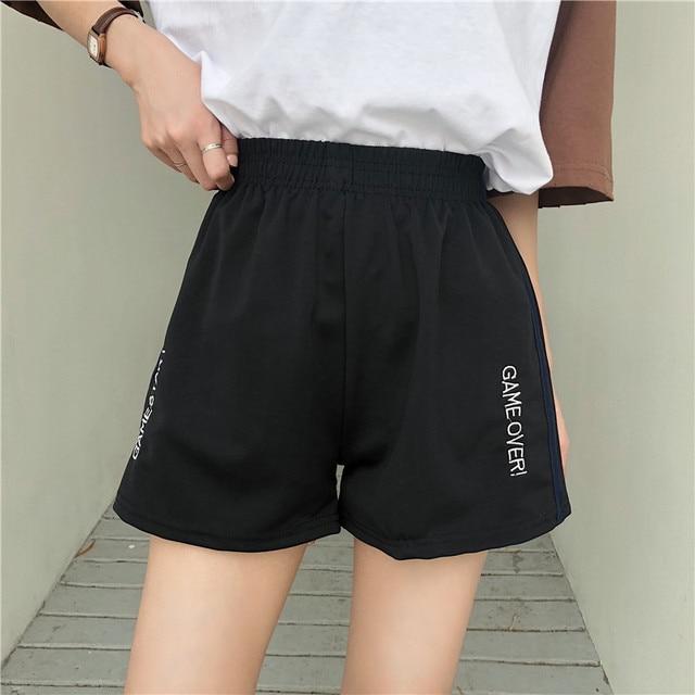 Summer vintage track shorts women  4
