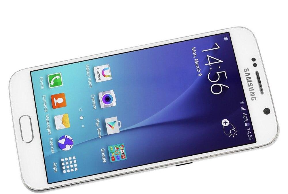 Gebruikt Samsung Galaxy S6-G920F Smartphones 32Gb Rom 4G Lte Android Mobiele Telefoons 5.1Inch Octa Core 16MP Unlocked celulares Global 3