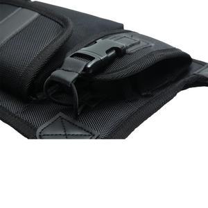 Image 4 - ABBREE Harness brust Vorne Packung Beutel Holster Tragen tasche für Baofeng UV 5R UV 82 UV 9R Plus BF 888S TYT Motorola Walkie Talkie