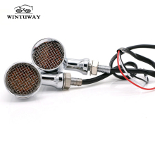 WINTUWAY Hot Sale Motorcycle Turn Signal Light  Universal 12V 5W Lamp Accessories