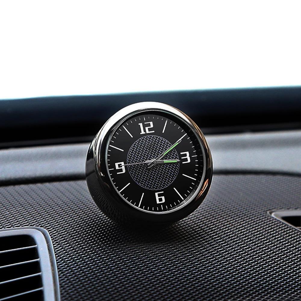 Car Logo Clock Watch Quartz Watch Car Interior Decoration For Volvo XC90 S60 V40 XC60 V50 S40 V70 XC40 V60 S80 S80L Accessories