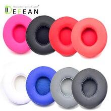 Defean almohadillas de repuesto para los oídos, cojín para Beats solo2 solo 2 2,0, auriculares negro, gris, azul y rosa