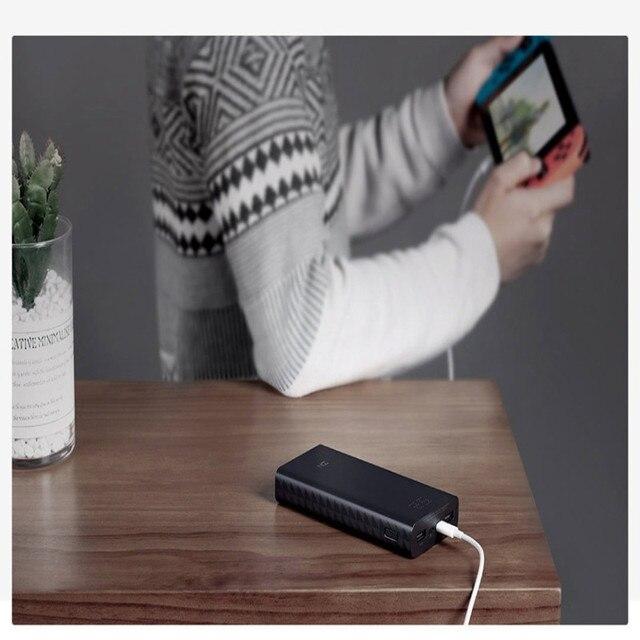 ZMI batterie dalimentation 20000 MAh Charge rapide QC3.0 Portable double USB Powerbank 27W 20000mah batterie externe pour iPhone iPad ordinateur Portable