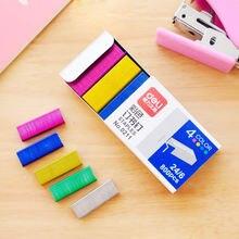 2020 красочный степлер скребок для книг игла шитья 12 см книжные