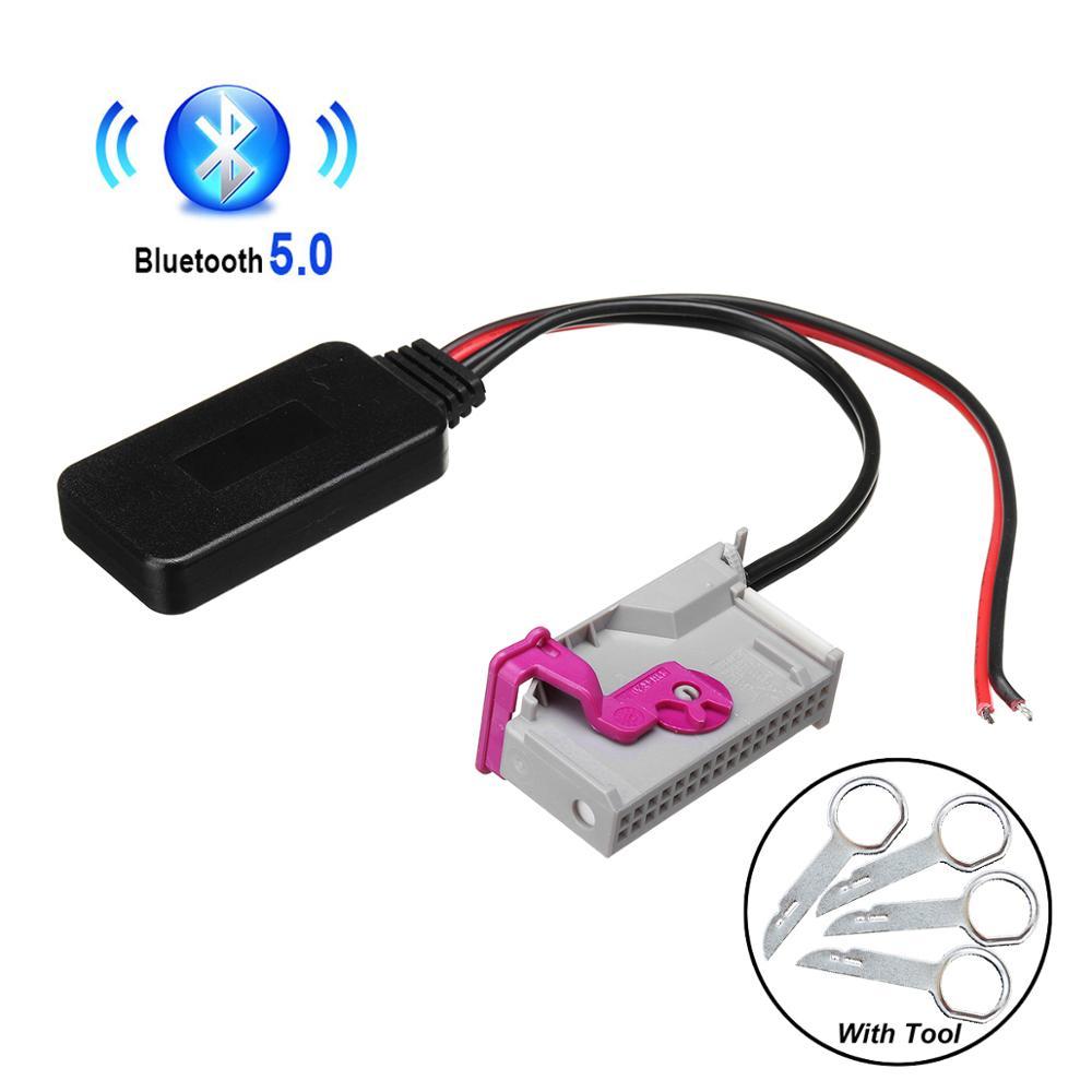 Bluetooth модуль беспроводной аудиовход для Audi RNS-E навигация A8 TT R8 A3 A4 Радио Стерео 32pin AUX адаптер