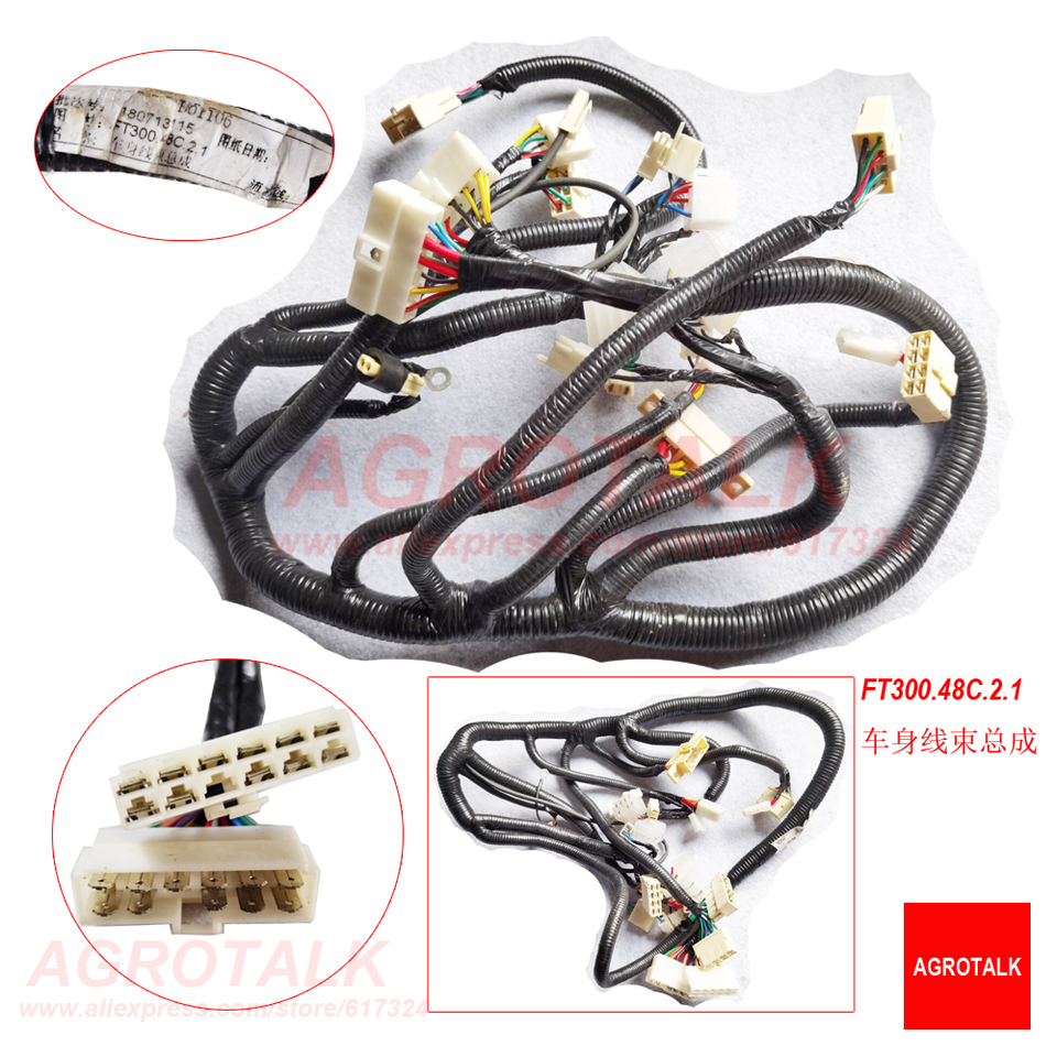 [SCHEMATICS_4ER]  Wiring harness for Foton Lovol TB 40hp series tractor, please check with us  firstly , Part number: TB450.482J.1 / FT300.48C.2.1| | - AliExpress | Foton Tractor Wiring Diagram |  | www.aliexpress.com