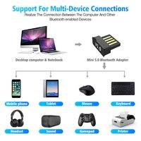 USB Bluetooth Wireless Adapters BT 5.0 USB  6