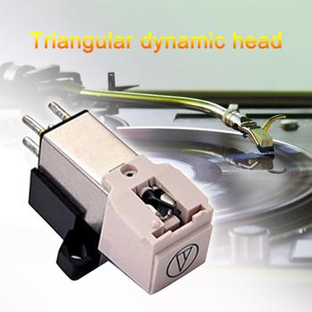 Gramofon winylowy gramofon fonogram gramofon głowica magnetyczna Stereo LP Stylus lekki przenośny Element muzyczny tanie i dobre opinie CN (pochodzenie)