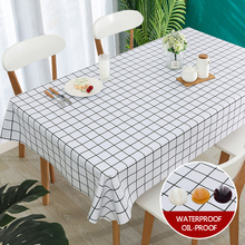 simanfei modern decorative table cloth rectangle tablecloth home kitchen square printing party banquet dining table cover PVC Plastic Waterproof Fabric Table Cloth Pastoral Printing Kitchen Tablecloth Oilproof Decorative Elegant Dining Table Cover