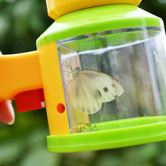 Children Scientific Bug Catcher Viewer Insect Magnifier Microscope Catching Kit Early Education Kids Science Toys for Children