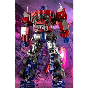 Image 3 - AOYI Action Figure Toys LS 13 LS13 Enlarged OP Star Knight Commander Truck Unofficial Biography Deformation Transformation