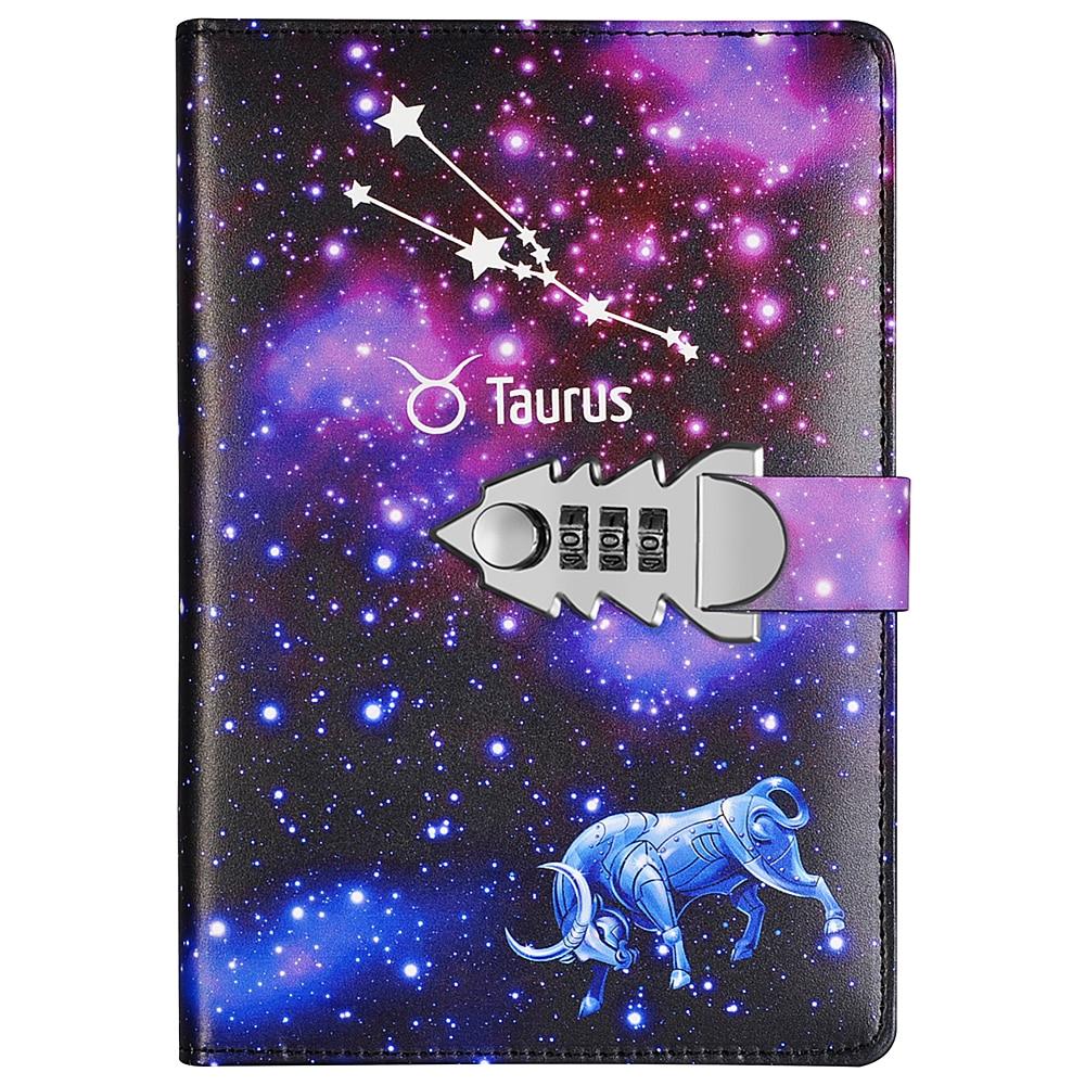 Clearance SaleYakri A5 Size Twelve Constellations Pass Words Diary Book DIY Pass Words Notebook TPN145