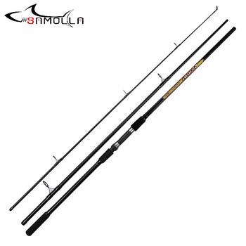 Fishing Rod Three Section 3.3M Vara De Pesca Canne Spinning Canne A Peche Carbonne Carp Peche En Mer Fly Fishing Rod Ice Pesca length 60m 170m semi finished product fishing net rede de pesca fishing network filet de peche peche au coup outdoor accessories