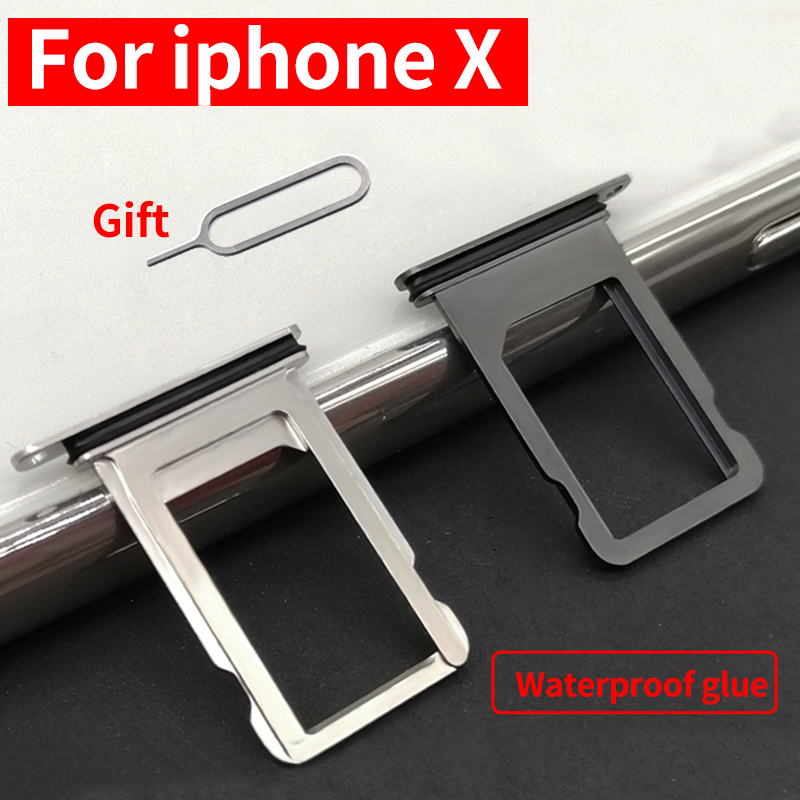 For Iphone X SIM Card Holder Slot Tray Container Adapter Eject Tools Mobile Phone Accessories