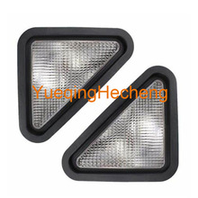 LED Headlight Kit Flood Beam - Right Hand and Left Hand Compatible with Bobcat 864 S250 T250 773 S150