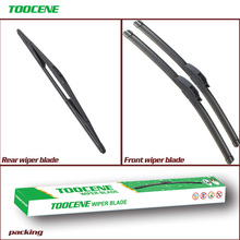 Front And Rear Wiper Blades For Peugeot 306 1993-2002 Rubber Windscreen Windshield Wipers Auto Car Accessories 24+20+16 cheap toocene CN(Origin) natural rubber 2000 2001 2017Year clean the windshield 2inch TC212 3inch Ningbo China