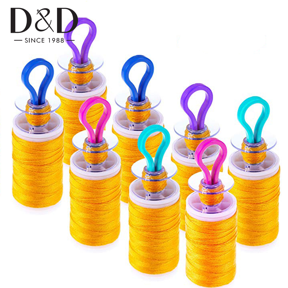 Quilting And Sewing Thread Thread Bobbin Buddies Sewing Machine Accessories for Thread Spool Organizing For Embroidery Storage Thread Bobbins On Top of Thread Spools Bobbin Holders Pack of 10
