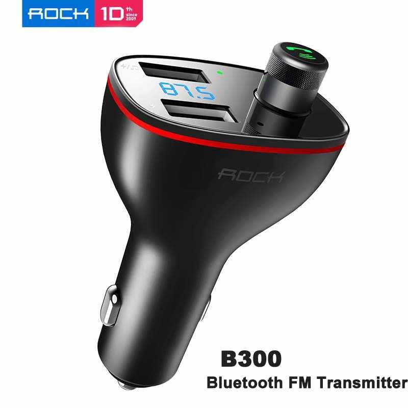 AliExpress ROCK B300 Bluetooth samochodowy nadajnik FM USB