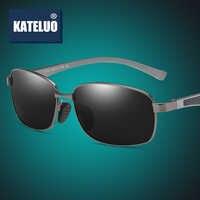 Liga de magnésio de alumínio masculino óculos de sol polarizados lente motorista espelho óculos de sol masculino óculos de sol re7755