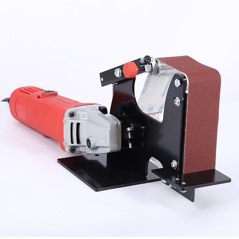 50mm Angle Grinder Belt Sander Attachment Metal Wood Sanding Belt Adapter For Sanding Machine Grinding Polishing Machine