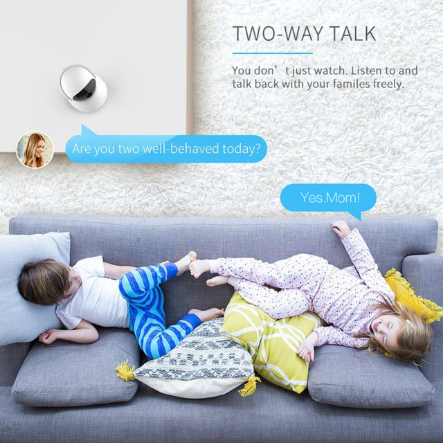 HD Motion Detection Baby Monitor 3
