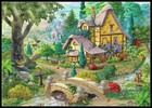 Fairy forest scenery...