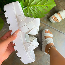 Summer Sandals Women Wedge Platform Sandal Female Casual Slides Woman Shoes Ladies Outdoor Beach Sandalias Open Toe Sandals 2021