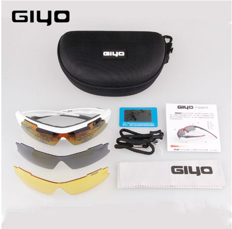 GIYO lunettes de cyclisme polarisées UV400 Protection de lentille vtt vélo de route Sport extérieur vélo lunettes de soleil lunettes cyclisme lunettes