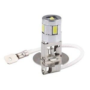 Image 2 - H3 LED ampuller araba sis lambası yüksek güç lamba 5630 SMD otomatik sürüş Led ampuller araba işık kaynağı park 12V 6000K kafa lambaları