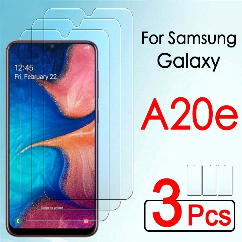 Защитное стекло a20e для Samsung Galaxy a 20e a20 e e20, пленка для экрана из закаленного стекла, 3 шт.
