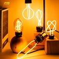 Retro LED Edison Bulb 220V 230V E27 LED Soft Filament Light Bulb Home Lamp Ampoule Incandescent Bulb Holiday Lighting Decor
