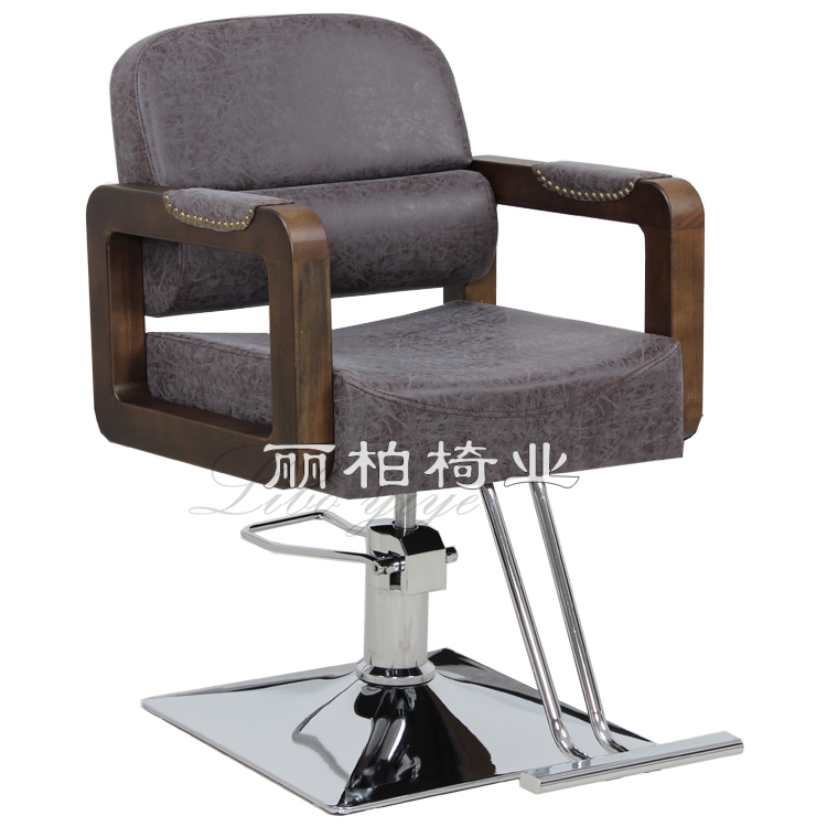 Beauty Salon Chair Hair Salon Barber Chair Haircut Chair Lift Adjusting Rotating Down Salon Chair Manufacturer