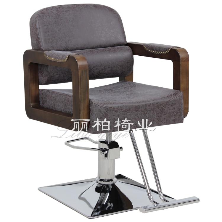 Beauty Salon Chair Hair Salon Barber Chair Haircut Chair Lift Adjusting Rotating Down Salon Chair Manufacturer