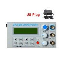 SGP1010S Ingebed Panel DDS Functie Signaal Generator/Onderwijs Instrument Signaal Frequentie Teller met Adapter ONS