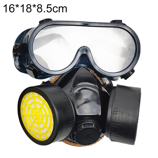 Protective mask Anti flu Anti Virus Mask Anti Dust Face Gas Mask Respirator for Painting Spraying Laboratory Chemistry 5