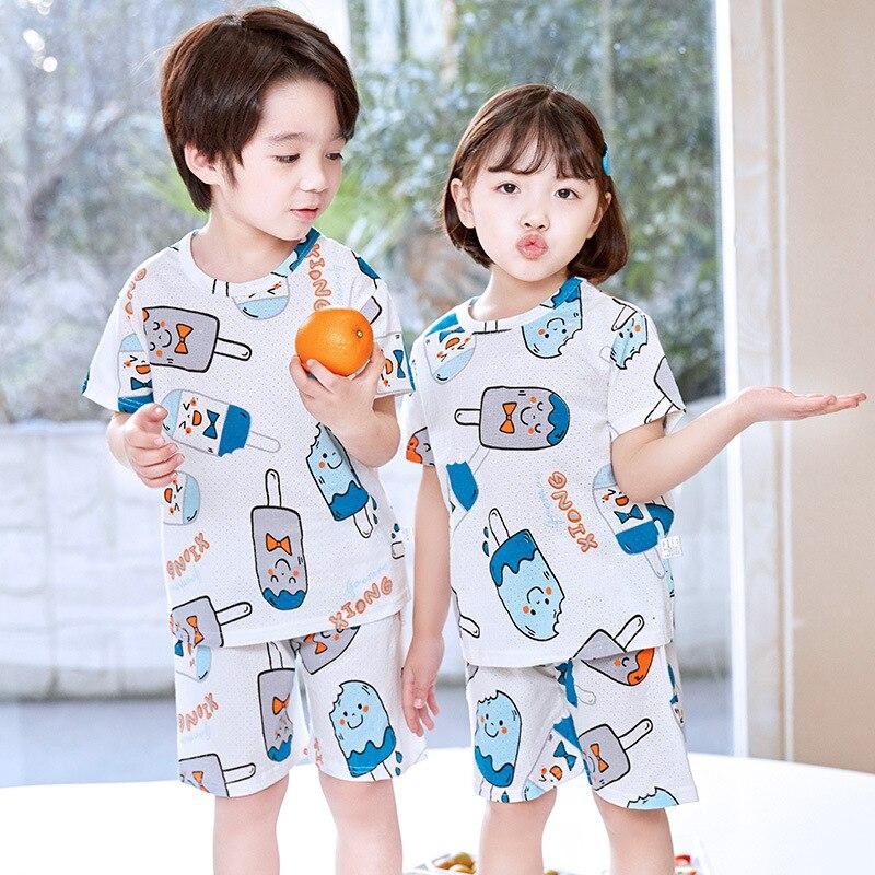 Childrens Unisex Summer Pajamas