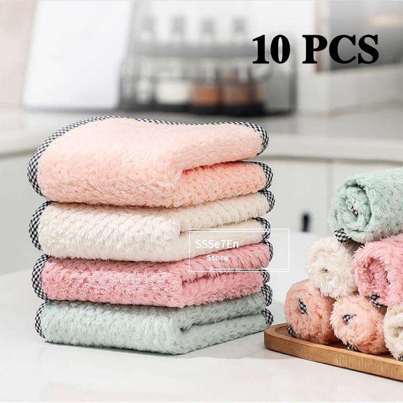 25*25 большой размер, безсмазка, чистящие инструменты для кухни, впитывающее полотенце, салфетка для чистки