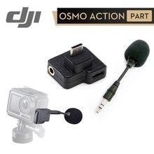 DJI CYNOVA Osmo Azione A Doppio 3.5 millimetri USB C Adattatore per la Macchina Fotografica di Azione di OSMO Migliora La Qualità del Suono Durante La Carica di Dati di Trasmissione