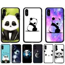 Casos de telefone panda para huawei p9 p10 p20 p30 p40 lite por psmart 2019