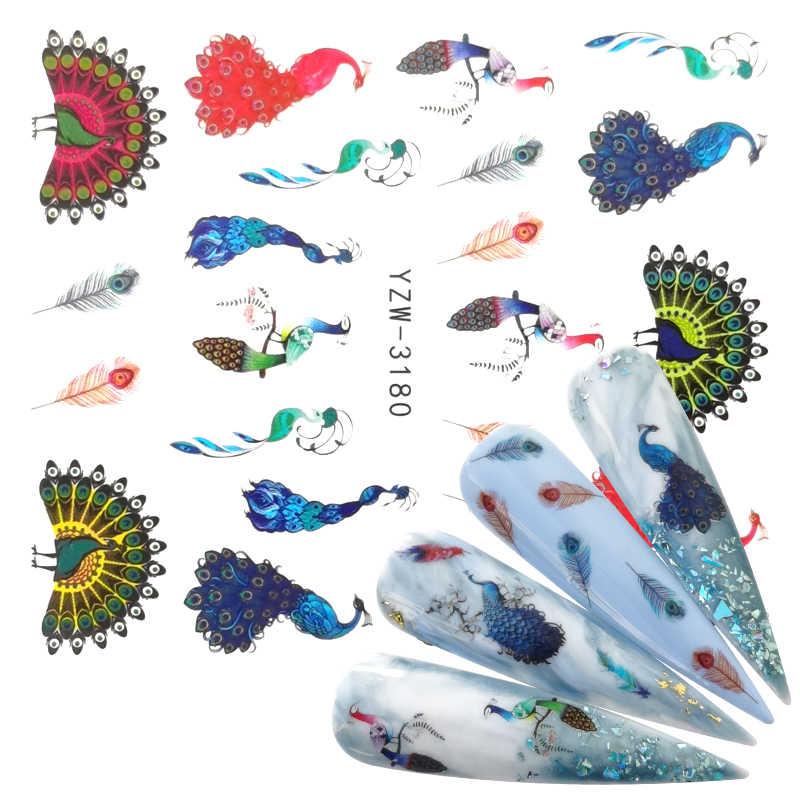 2020 New Arrival 1 PC Nail Art paw zwierząt kwiat woda projekt tatuaże naklejka do paznokci naklejki na uroda narzędzia do manicure