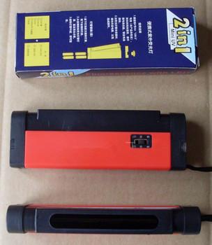 Szkło powierzchni cyny detektor UV ze szkła przenośny detektor UV analizator wizualizacji tester toors pozytywne jak i negatywne detectio tanie i dobre opinie Linshang Brak