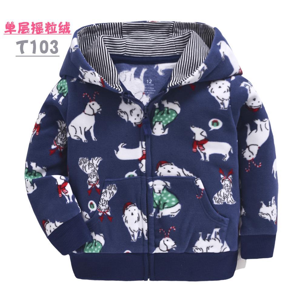 Toddler kids coats fleece boys jacket children clothes dinosaur girls clothes rainbow  kids jacket baby girl coat spring autumn 4